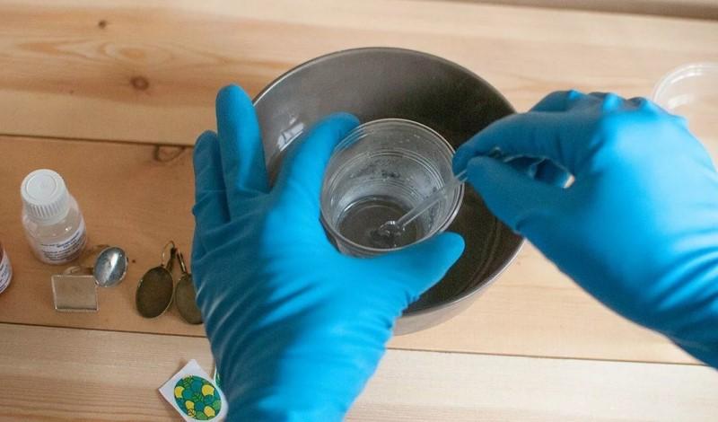 Смешивание полимера
