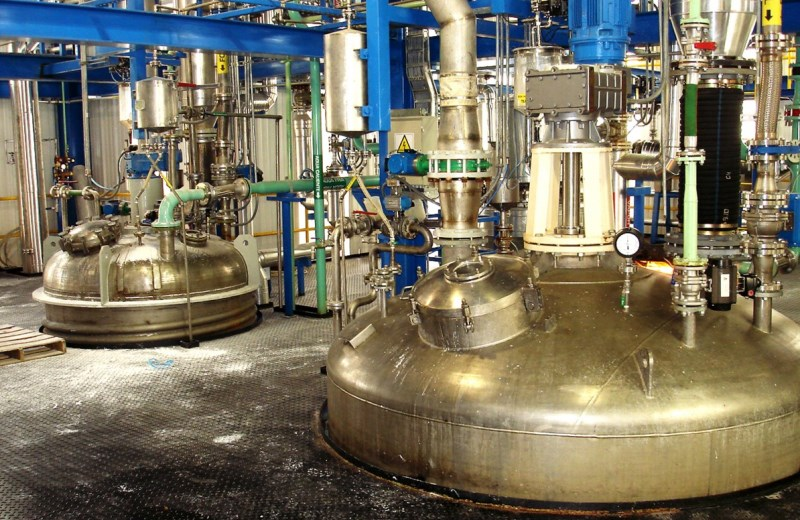 Современный завод
