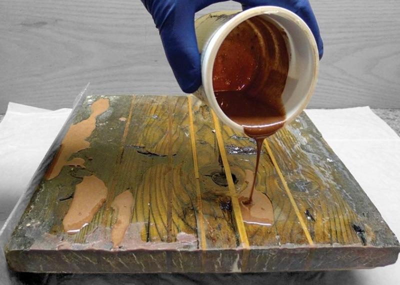 Заливка поверхности