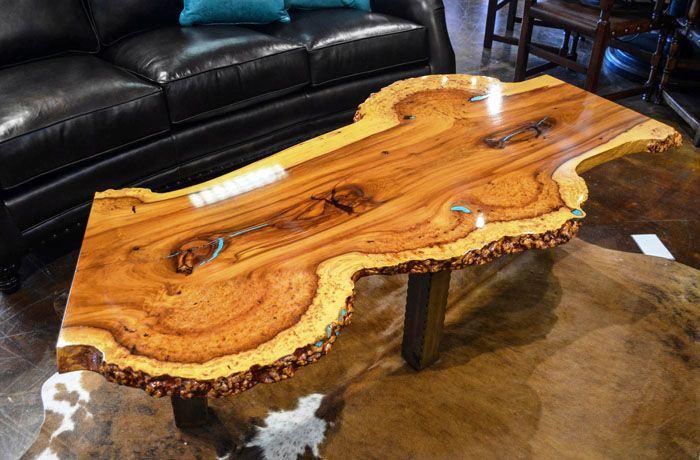 Большой стол из слэба