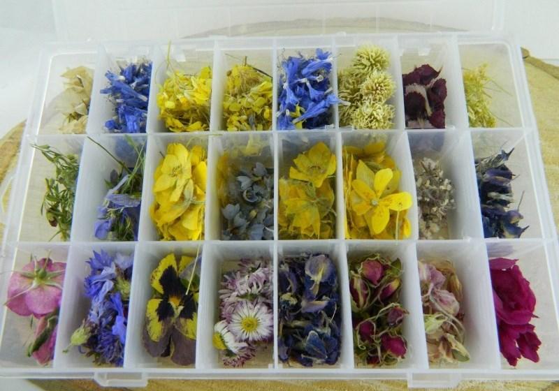 Набор цветков