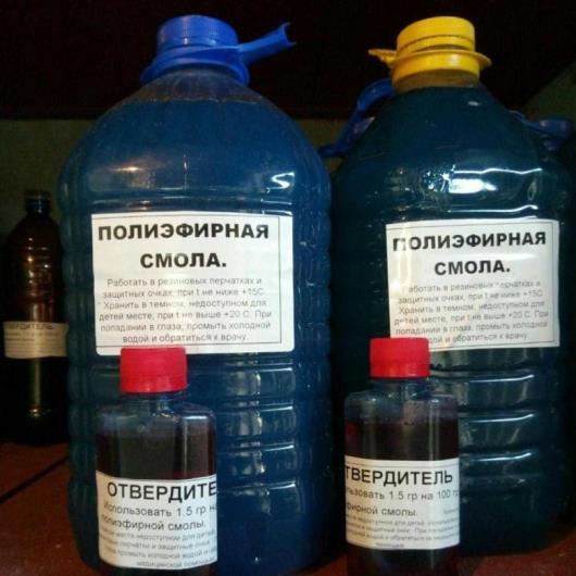 Голубой полимер