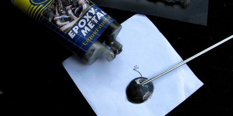 Соединение металлов при помощи клея